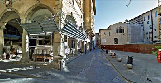 Loggia del Grano a Firenze:  nessuna offerta per bando vendita