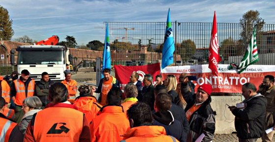 Presidio unitario dei lavoratori edili fiorentini