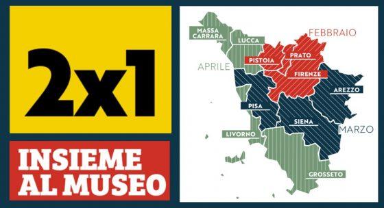 101 musei con biglietti dimezzati in Toscana per due mesi