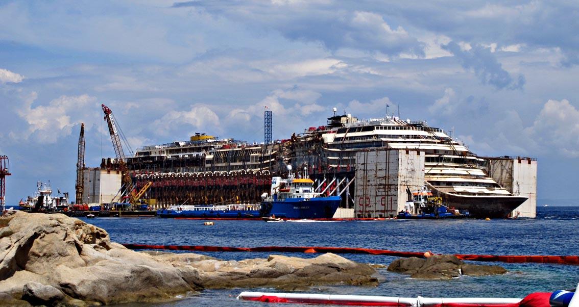Sei anni dal naufragio della Costa Concordia