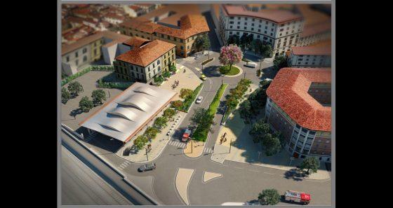 Progetto restyling di piazza delle Cure