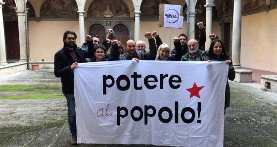 Potere al Popolo presenta candidati elezioni 4 marzo