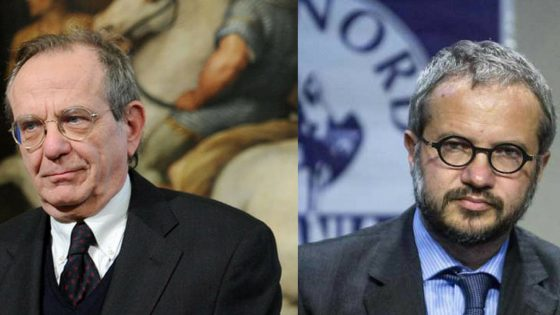 Siena: la Lega candida Borghi contro Padoan