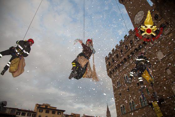 La befana dall'alto è arrivata in Toscana