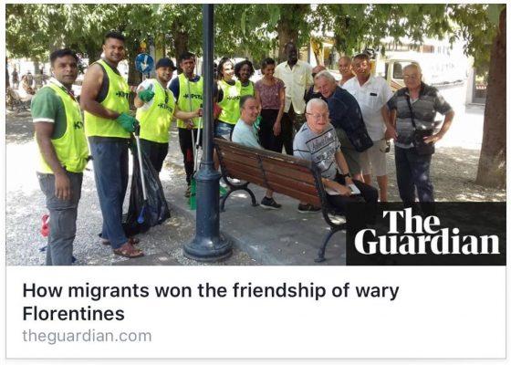 Migranti, perTheGuardianSesto Fiorentino esempio di integrazione