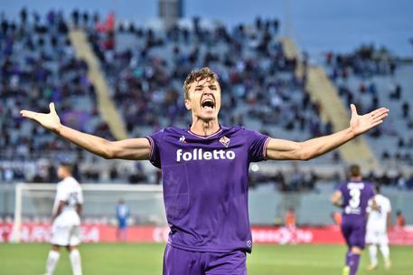 Fiorentina vince a Bologna, Chiesa decide partita