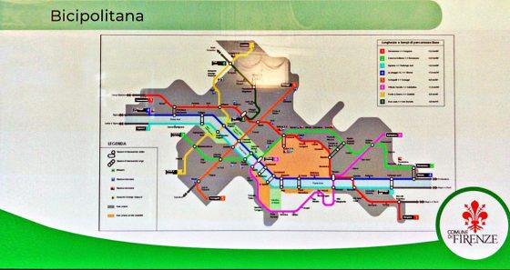 Nasce la Bicipolitana, una mappa integrata di piste ciclabili