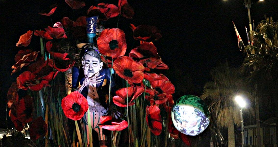 Carnevale di Viareggio 2018: vince il carro
