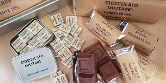 Torna in vendita il Cioccolato militare italiano