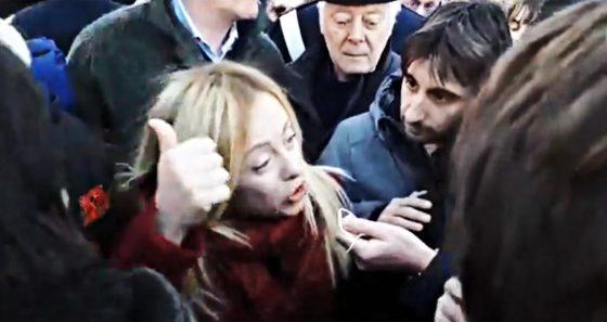 Livorno:  altri  21 denunciati per contestazione Meloni