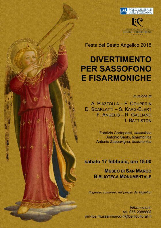 Concerto al Museo di San Marco per la Festa dell'Angelico 2018