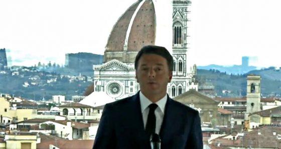 """Renzi: """"Siamo dentro una campagna elettorale lontana dalla realtà"""""""