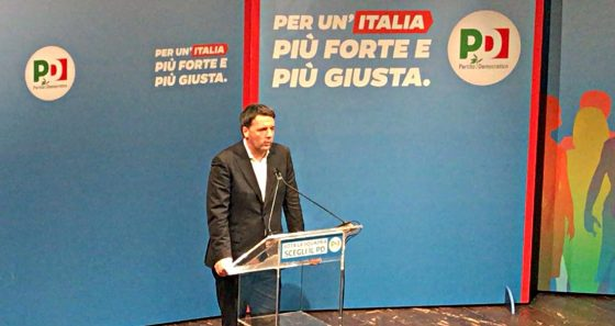 Renzi in campagna elettorale con Minniti
