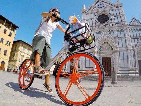 Firenze, con bike sharing risparmiate 500 tonnellate Co2