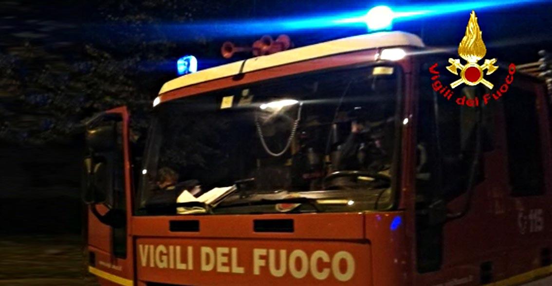 Fossombrone, incendio in cucina: due intossicati e la casa è inagibile