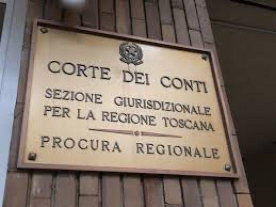 Toscana, Corte Conti: dalle sentenze si recupera solo il 20% del danno accertato