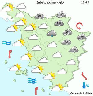 Maltempo: codice arancione in Toscana, neve e pioggia