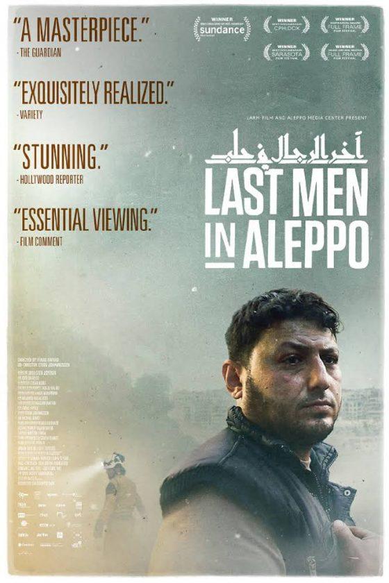 Last men in Aleppo al Cinema La Compagnia di Firenze