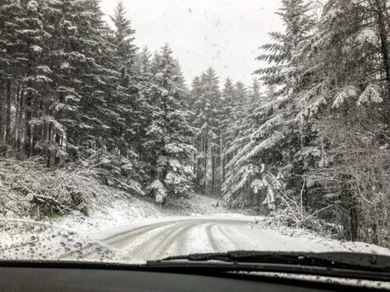 Toscana: neve in alto Mugello, Amiata e passi Aretini