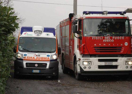 Incendio in appartamento a Pisa, grave una donna