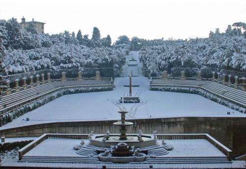 Neve Firenze: chiusi Boboli e Pitti, regolari Uffizi, Bargello e Accademia
