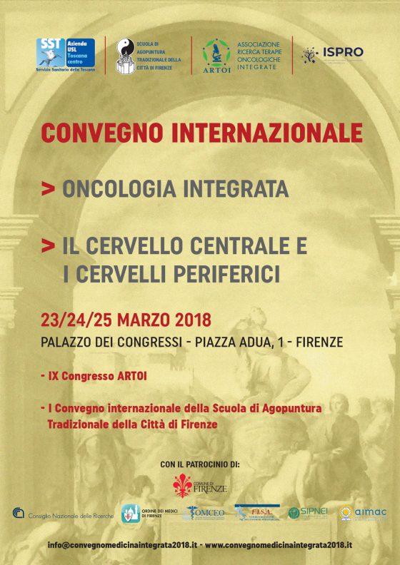 Oncologia integrata: convegno internazionale a Firenze