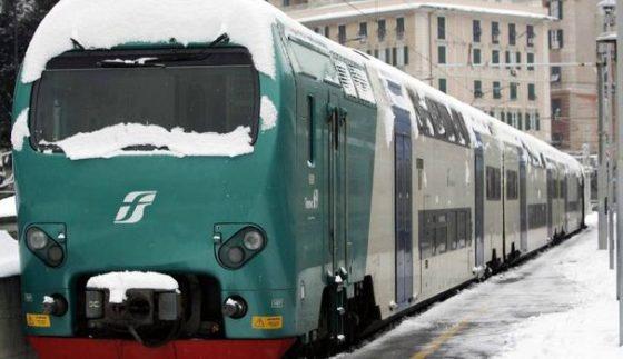 Neve in Toscana; Rfi, circolano 50% treni regionali