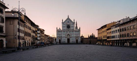Firenze, intervento di restauro per la facciata della Basilica di Santa Croce