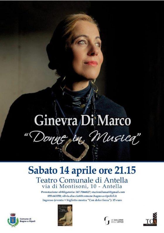 La musica di Ginevra Di Marco per le donne degli Uffizi