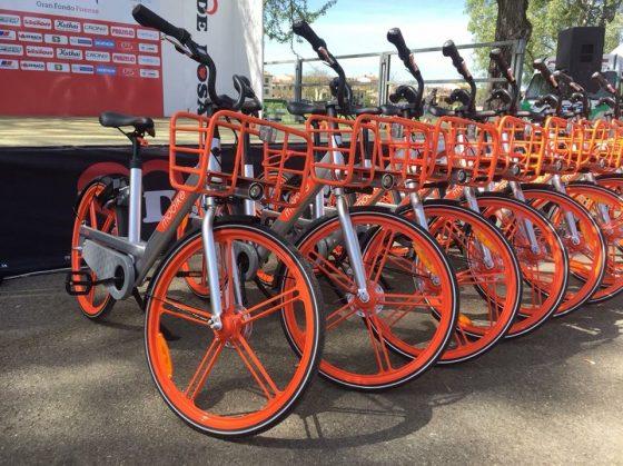 Le nuove Mobike sono arrivate a Firenze
