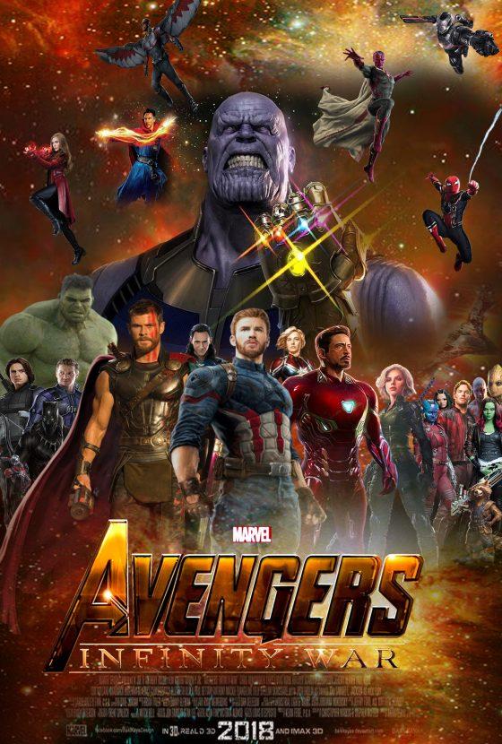 Mercoledì 25 Aprile ore 11.30 di mattina la prima di Avengers: Infinity Wars