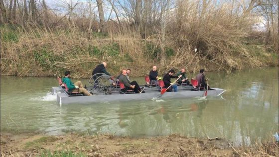 A remi e a pedali, dal fiume Elsa fino alla foce dell'Arno