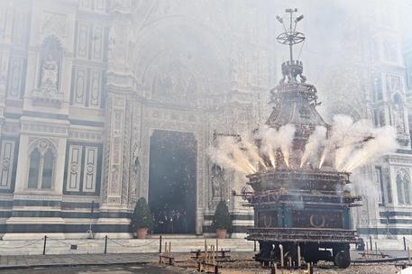 Coronavirus: Pasqua, annullato Scoppio del Carro a Firenze