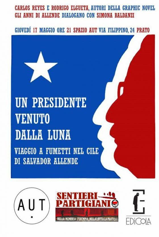 """Spazio Aut, Prato: incontro con gli autori cileni della graphic novel """"Gli anni di Allende"""""""