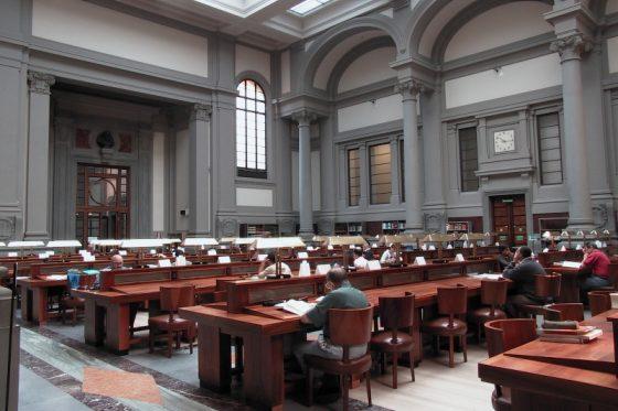 Tubo rotto, cento libri salvati in Biblioteca Nazionale Firenze