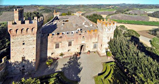 Toscana, in vendita il castello del 'Brunelleschi'