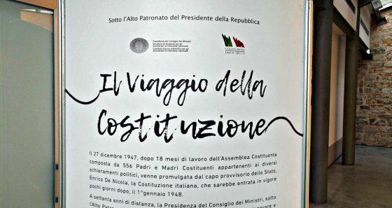 A Firenze 'Il Viaggio della Costituzione'