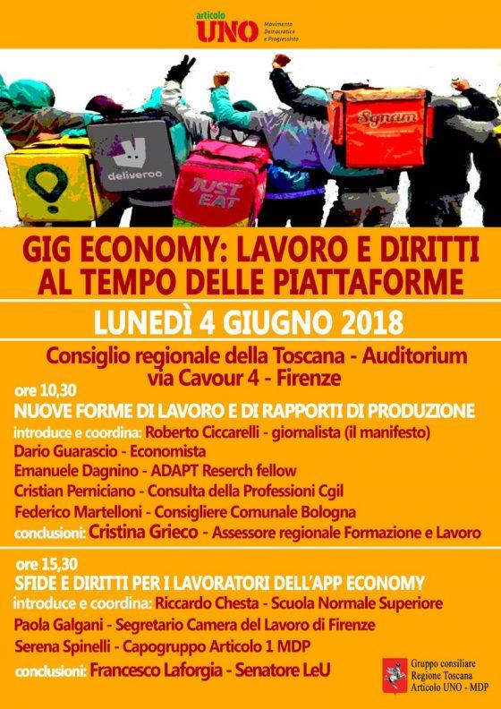 """Gig economy, Spinelli: """"introdurre una carta dei diritti per i fattorini"""""""
