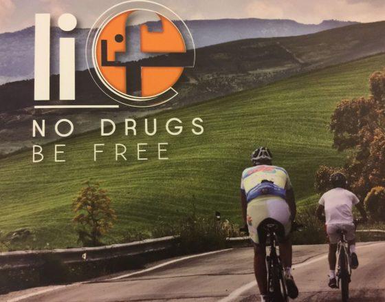 L'impegno contro la droga in bici passa per la Toscana