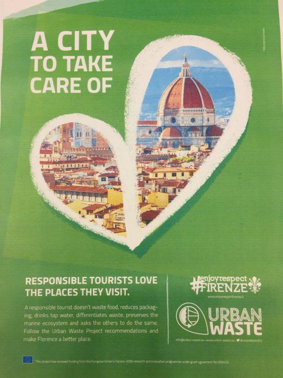 Arrivano a Firenze, prima in Italia, le azioni antispreco di Urban waste