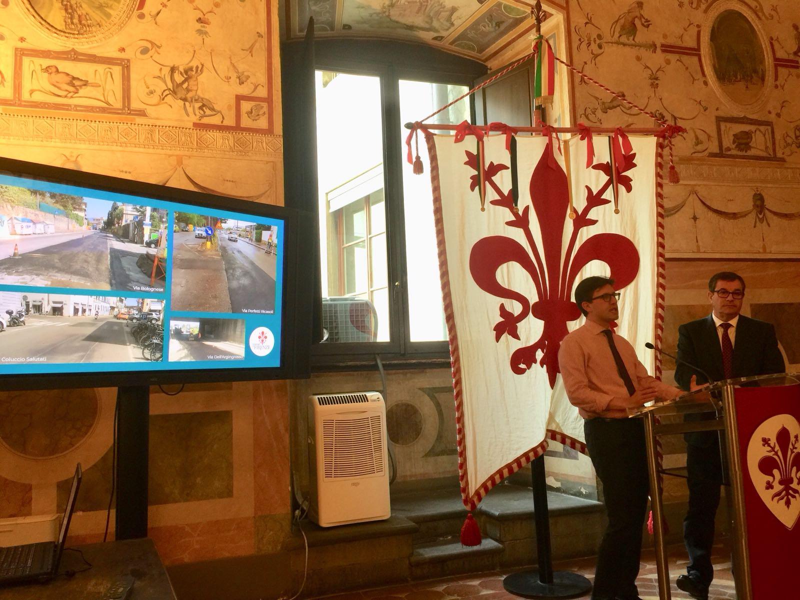 Strade a Firenze, in 3 mesi coperte 7.116 buche