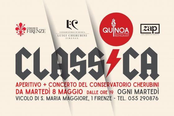 """Nella corte del ristorante Quinoa c'è """"Classica"""": martedì concerto di fisarmoniche con l'ensemble del Conservatorio Cherubini"""