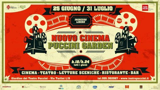 Nuovo Cinema Puccini Garden: torna la rassegna di cinema, teatro e letture sceniche