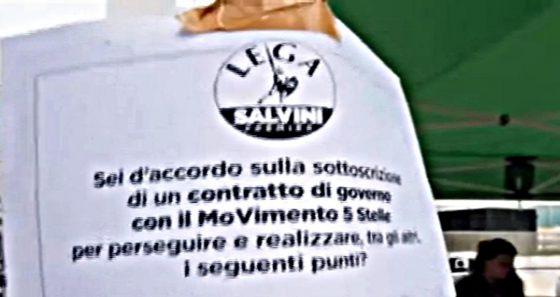 """Grande affluenza"" ai gazebo della Lega"