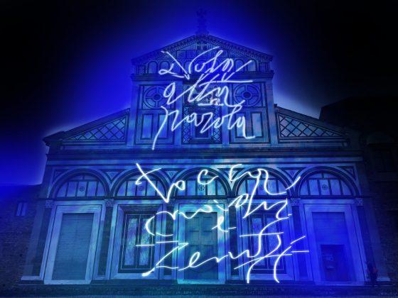 Millenario San Miniato: 'Ad verbum lucis' sulla facciata della Basilica