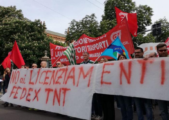 Licenziamenti Fedex-Tnt, altri due giorni di sciopero in Toscana
