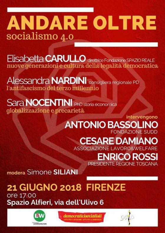 Socialismo 4.0: Rossi, Bassolino, Damiano si confrontano su partito e lavoro
