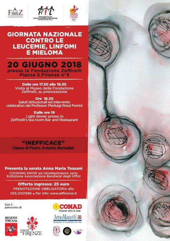 Fondazione Zeffirelli ospita Giornata contro leucemie: Ail Firenze sceglie opera Bernabei per rappresentare il momento