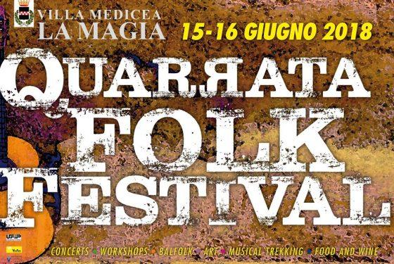 """Torna il """"Quarrata Folk Festival"""", il 15 e 16 giugno"""