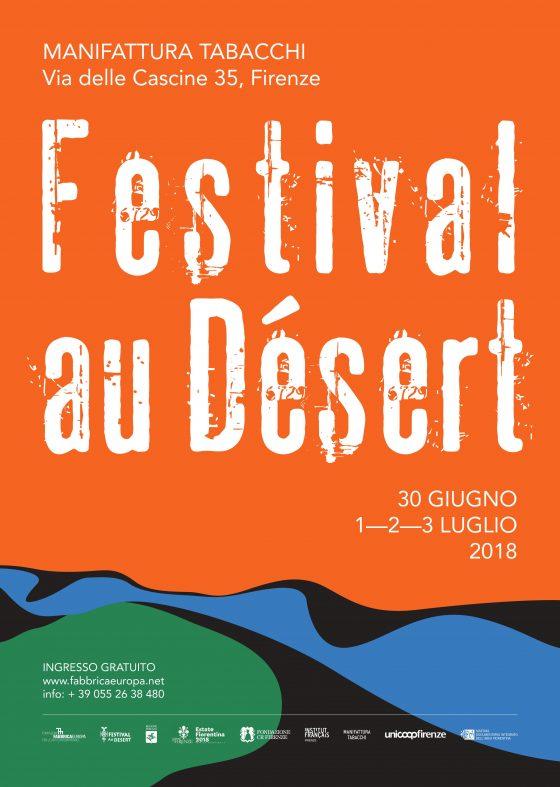 Dal 30 giugno al 3 luglio il Festival au Désert 2018 a Firenze